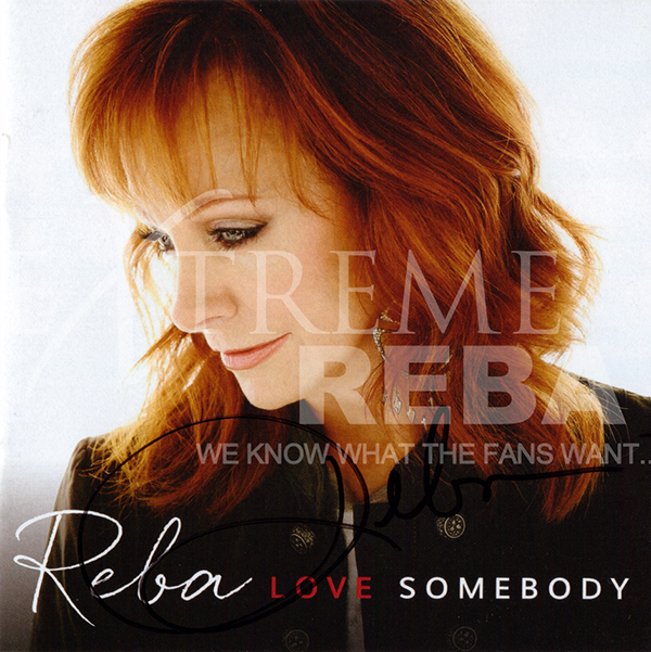 Love Somebody Album Cover Signed