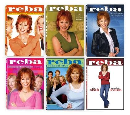 Reba Season 1-6 DVDs